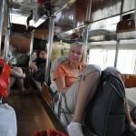 В автобусе с АЗ
